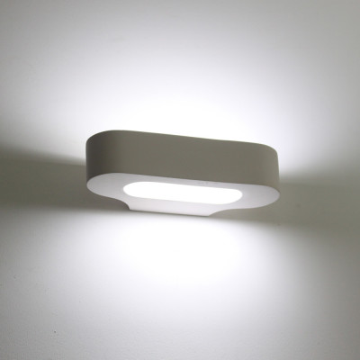 Soft-2 Plaster Wall Light - Combining Soft Curvature with Clean Lines