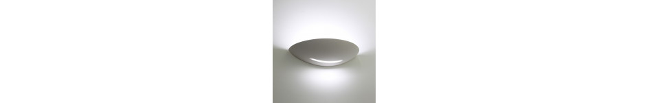 Curved Plaster Wall Lights