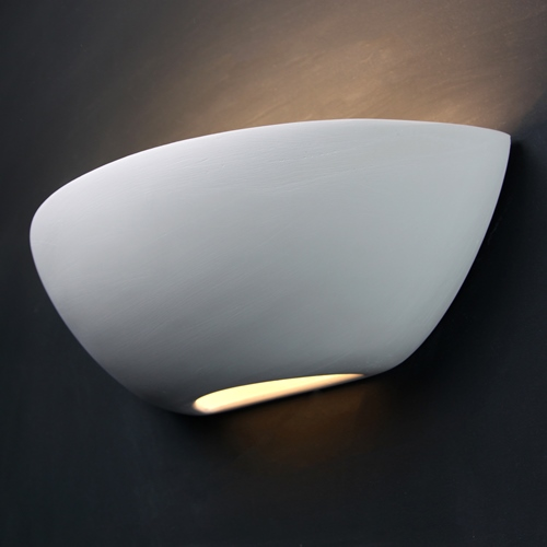 Curved Plaster Wall Lights : Tornado T6223 Curved Plaster Wall Light