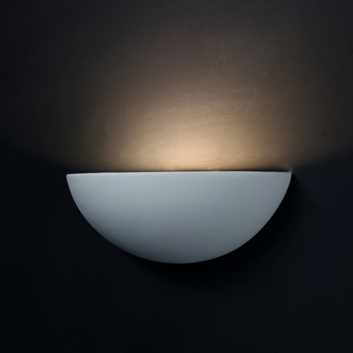 Curved Plaster Wall Lights : Tornado T6115 Curved Plaster Wall Light