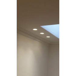 Tornado TF15 Flush Trimless Seamless Plaster LED Downlight
