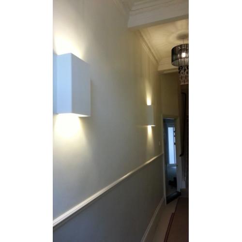 Tornado Plaster Wall Lights : Tornado TR7226 Linear Plaster Wall Light