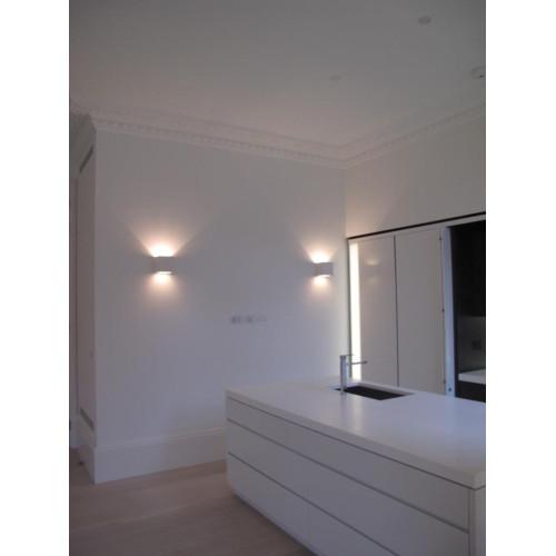 Tornado Plaster Wall Lights : Tornado TR8180 Linear Plaster Wall Light