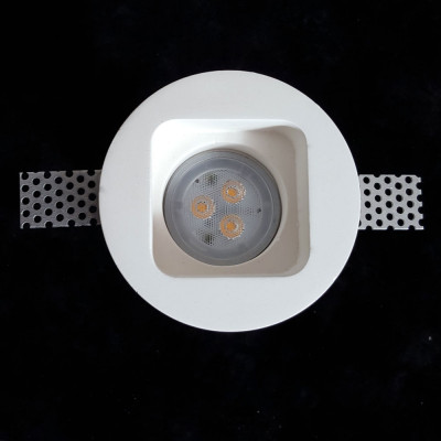 Tornado TF20 Flush Trimless Seamless Plaster LED Downlight