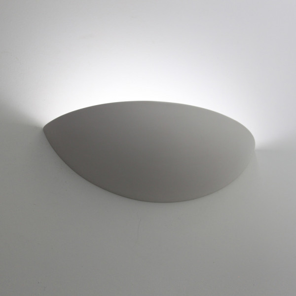 Tornado T6115 Curved Plaster Wall Light