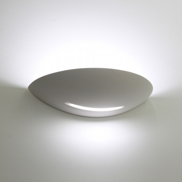 Tornado T6218 Curved Plaster Wall Light