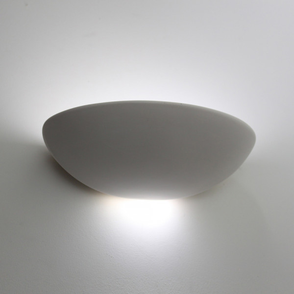 Tornado T7525 Curved Plaster Wall Light