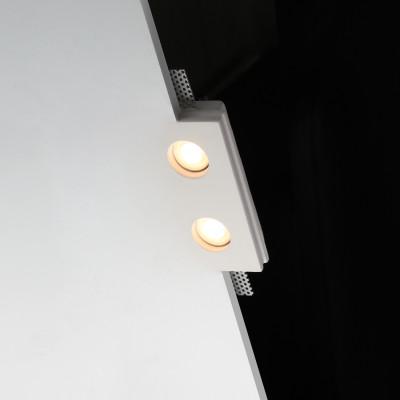 TFM12 Flush Trimless Seamless Plaster LED Downlight