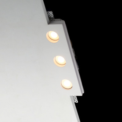 TFM13 Flush Trimless Seamless Plaster LED Downlight