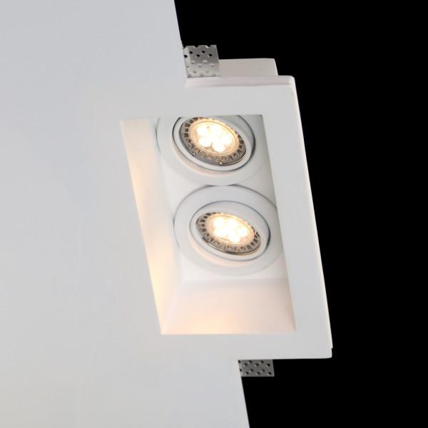Tornado TF18 ST Flush Trimless Seamless Plaster LED Downlight with Tilt/Swivel