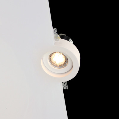 Tornado TF30  IP65 Fire and Bathroom Rated Flush Trimless Seamless Plaster LED Downlight