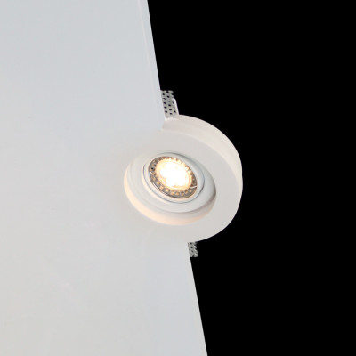 Tornado TF31 Flush Swivel and Tilt Trimless Seamless Plaster LED Downlight