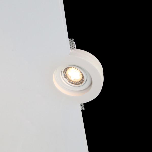 Tornado TF31 Flush Swivel and Tilt Trimless Seamless Plaster LED Downlight