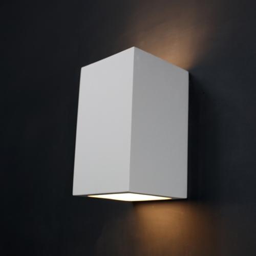 Plaster Wall Lights For Painting : Tornado TR8280 Linear Plaster Wall Light