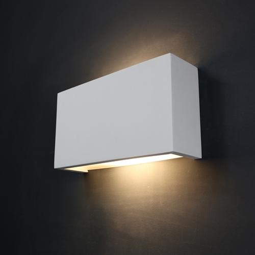Plaster Wall Lights For Painting : Tornado TR9281 Linear Plaster Wall Light